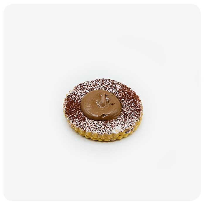 Occhio di Bue alla Nutella