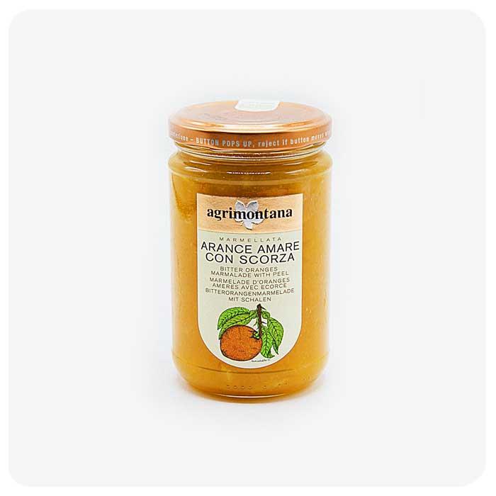 marmellata di arance amare con scorza agrimontana